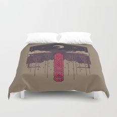 The Lost Obelisk Duvet Cover