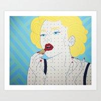 Scarlett D&G Art Print