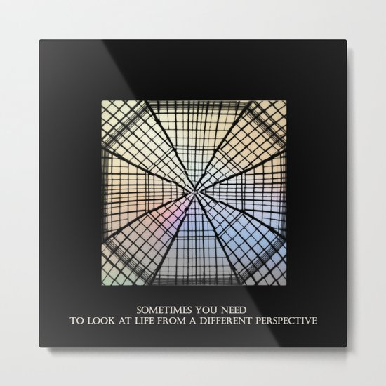 Ceiling Metal Print