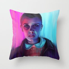 Eleven Throw Pillow