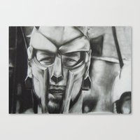 gladiator Canvas Prints featuring Gladiator  by Jimmy chard