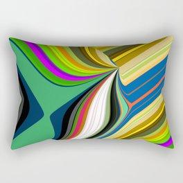 Retro Graphic Rectangular Pillow