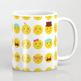 Cheeky Emoji Faces Coffee Mug