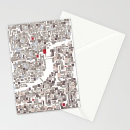 mapping home Stationery Cards