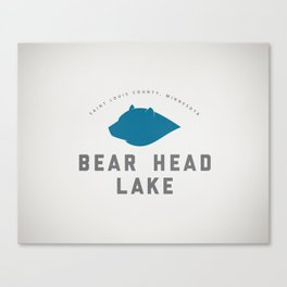 Bear Head Lake Canvas Print