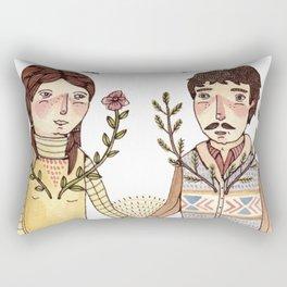 Always Be Honest Rectangular Pillow