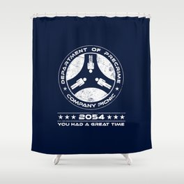 Precrime Picnic Shower Curtain