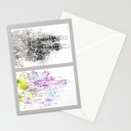 Grid Series No.5 Wisteria Stationery Cards