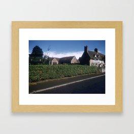 England Art Print * 1950's * Mary Arden * Shakespeare * Stratford upon Avon * Vintage Photo * Color Framed Art Print
