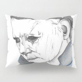Happy Halloween, Michael Myers Portrait Pillow Sham