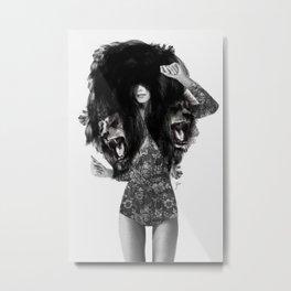 Lion #2 Metal Print