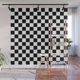 White and black cells pattern Wall Mural