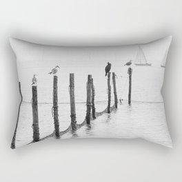 Northern Sea Rectangular Pillow
