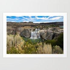 Waterfall Photography - Shoshone Falls Idaho Art Print
