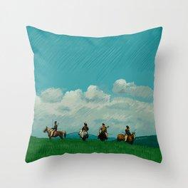 Ran - Illustration Throw Pillow