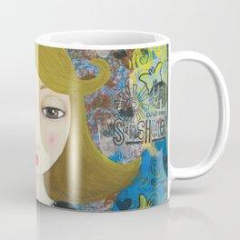 If You Can Dream It, Mixed Media Artwork Coffee Mug