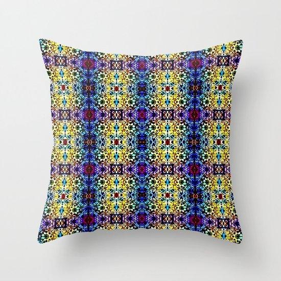 Deco Garden 3 Throw Pillow
