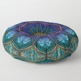 Moonstone Mandala Floor Pillow
