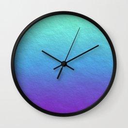 Summer Skies Wall Clock