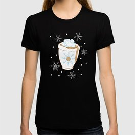 Snowing Marshmallow - Cocoa T-shirt