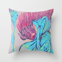 Combustion Throw Pillow