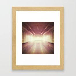 blurred Framed Art Print