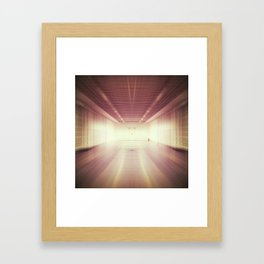 blurred Framed Art Print