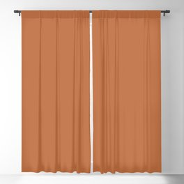 Hazel Brown Solid Color Trend Autumn Winter 2019 2020 Blackout Curtain