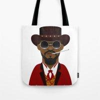 django Tote Bags featuring DJANGO by Capitoni