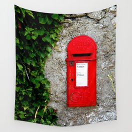 The Post Box Wall Tapestry