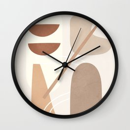 Abstract Shapes No.23 Wall Clock