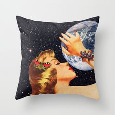 The Embrace Throw Pillow