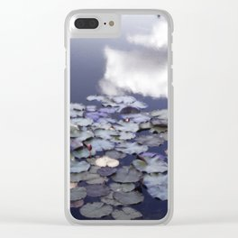 A Glow of Lilies Clear iPhone Case