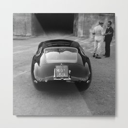 1957 4.5 Coupe, Modena, Italy Italian Sport Car Factory Photography Metal Print