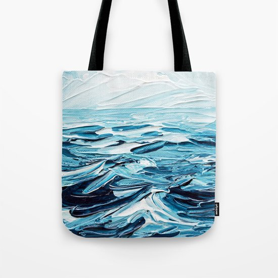 Tiny Seascape Tote Bag