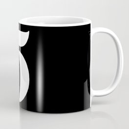 Number five Coffee Mug