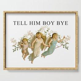 BOY, BYE Serving Tray