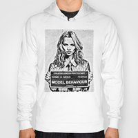 kate moss Hoodies featuring Kate Moss by loveme