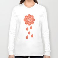 henna Long Sleeve T-shirts featuring Henna Shower by Neela
