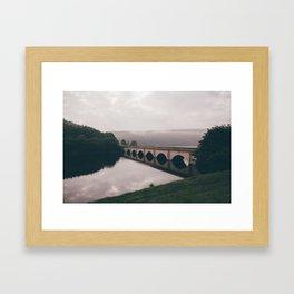 Foggy Crossings Framed Art Print