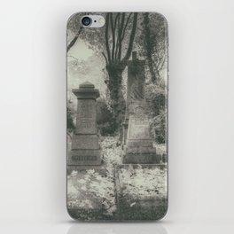 Highgate Cemetery London iPhone Skin