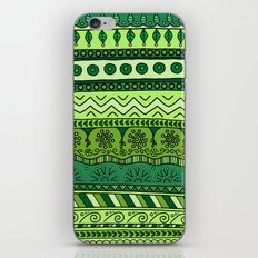 Yzor pattern 003 green iPhone & iPod Skin