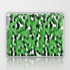 Green Leopard Pattern Laptop & iPad Skin