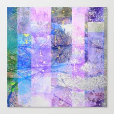 Glitched Tree Canopy Canvas Print
