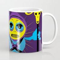 skeletor Mugs featuring SKELETOR by Maioriz Home