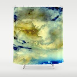 solo flight, inverted Shower Curtain