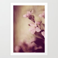 Pink Sentiments Art Print