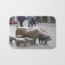 Pigs in Bremen Bath Mat