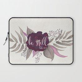 Be Still Floral Laptop Sleeve