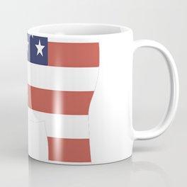 Bichon-Frise-tshirt,-patriotic-Bichon-Frise Coffee Mug